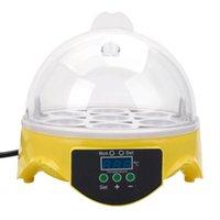 7 inkubatorer Automatisk kyckling duck ägg inkubator LCD-skärmdisplay Fledgling Lizard Snake Bird Skicka gratis