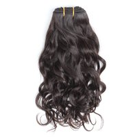 Bella Hair® Braziliaanse haar Weave Virgin Natural Color Wave Golvende Extensions Dubbele inslag 8 ~ 30 inch 2pcs / lot