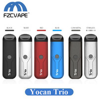 Authentic Yocan Trio 3 IN 1 Vaporizer Pod Kit 400mAh VV Batt...