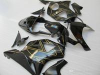 Black fairings set for Honda CBR900RR 2002 2003 CBR954 fairing kit 02 03 CBR954RR CBR 954RR WW36