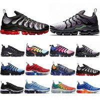 New TN Plus Running Shoes Men Women Game Royal Rainbow bleac...