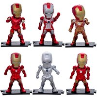 Avengers: Endgame Iron Man Figuren League Marvel Avengers Super Hero Charaktere Modell Vinyl Action Toy Figures bestes Geschenk