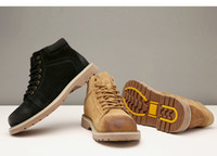 TBA outdoor sports shoes sneakers, Men Martin leather suede c...