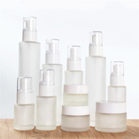 30ml 40ml 60ml 80ml 100ml Frosted Glass Cosmetic Bottle Empt...