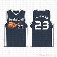 2019 New Custom Basketball Jersey alta qualidade Mens frete grátis bordado Logos 100% superior costurado venda A1544254254