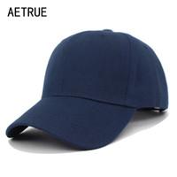 AETRUE Snapback Men Baseball Cap Women Hats For Men Bone Blank Casquette Hip hop Solid Casual Gorras Female Dad Hat Male Caps