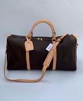3 ألوان موضة جديدة الرجال النساء حقيبة سفر حقيبة واق، حقيبة يد مصمم حقيبة الأمتعة سعة كبيرة حقيبة 58 سم