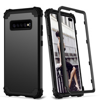 Для Samsung Galaxy S20 Ультра S10 S9 S8 Plus Примечание 9 Телефон Case Cover Full-Body 3 в 1 Hybrid Hard PC Soft Silicone Heavy Duty Прочный бампер