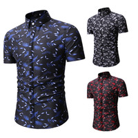 2019 Free delivery of cross- border men' s shirts summer ...