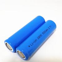 Высокое качество литий-ионный аккумулятор Синий 18650 5000mAh батареи плоская лития может быть использован в яркий фонарик и так далее.