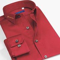 الرجال اللباس قمصان الذكية خمسة الرجال camisa الغمد الاجتماعية يتأهل الأعمال قميص رسمي كم طويل 6xl القطن حزب 2021