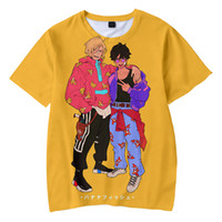 d169bde7f New Arrival. 2019 Newest 3D BANANA FISH Fashion Tshirt Yellow Kpop Casual  Hot Style Boys and Girls Tshirts ...