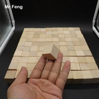100 قطع كتل الخشب مكعب كومة يصل الجدول لعبة الكبار الطفل كيد الاستخبارات التفاعلية لعب 2.5 سنتيمتر (نموذج رقم b097)