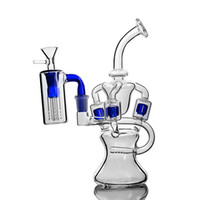 Recycler glass bong oil rigs dab rig bongs water pipe smokin...