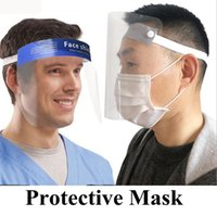 Face Shield Transparent Full Face Cover Anti Fog Anti Dust F...