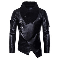 Mens faux Leather Jackets Men Jacket High Quality Classic Mo...