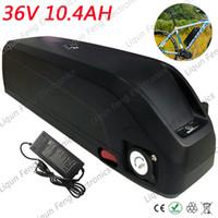 Batteria a tubo bici ebike Tax Free con batteria bici elettrica USB 10AH 36V per batteria al litio Bafang / 8fun 500W motore 36V 2A Charg.