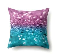Multicolor federa cuscino stampata molle del cuscino di tiro della cassa irregolare del modello Cuscino Home Auto Divano Decoration CFYZ354Q