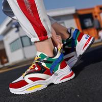 219b8b1180e92 Haut haut Running Chaussures de sport printemps automne Date Respirant  Hommes Sneakers Confortable à lacets Jogging