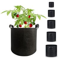 Alta Qualidade Vegetal Big semente crescer Bolsas Pot Início Jardim Ferramentas Batata morango Tecido Vegetal Jardin de mudas Pots Growing