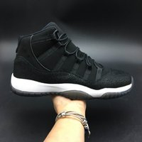[with box]11 Basketball Shoes Concord 11s Prom Night Men bla...