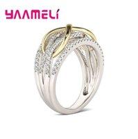 Sólidos 925 anillos de plata para el regalo grande de la promoción de San Valentín joyería de las mujeres hueco de salida Número 8 Infinito Amor