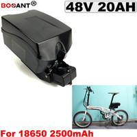 E-bike-Lithium-Ionen-Batterie der hohen Leistung 48V 1000W elektrische Fahrradbatterie 48V 20AH mit 30A BMS 54.6V 2A Ladegerät Freies Verschiffen