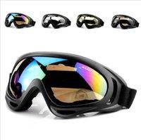 Fan Ciclismo Óculos Motorcycle Sports Óculos de proteção UV dos óculos de sol X400 Windproof Areia Tactical Equipamento de Esqui Óculos de Mulheres Homens