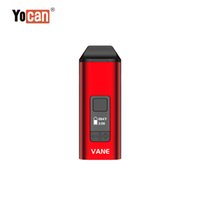 Original Yocan Vane Kit Vane Main Dry Herb Vaporizer Oled Display Keramisk kammare 1100mAh Vape penna 5 färger