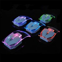 Transparent 1. 35m Wired Mouse Laptop Desktop Gamer Colorful ...