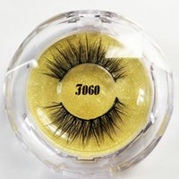 Eyelashes free DHL shipping 3D faux mink lashes handmade eye...