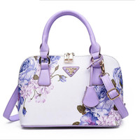 good quality Printed Floral Leather Shell Package Brand Hand...