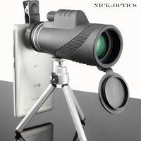 단안 40x60 강력한 쌍안경 고품질 줌 큰 휴대용 망원경 lll 나이트 비전 군사 HD 전문 사냥 C18122601