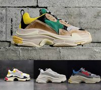 2019 Multi Luxury Triple S Designer Low Old Dad Sneaker Comb...