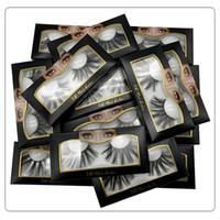10 Arten 6D Mink Wimpern 25mm Premium Weiche Natürliche dicke Kreuz Handmade 6D Mink Wimpern mit Wimpern Verpackungsbox DHL frei