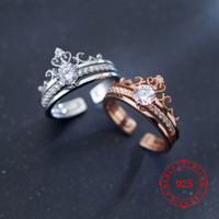 Rose Gold Plated Crown New Model Custom Fashion Adjustable W...