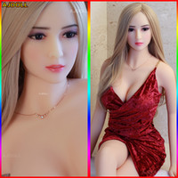 158cm Japanese LifeLike Top Quality Silicone Sex Poupée pour hommes Gros Seins Real Love Anal Anal Pussy Adulte Sexy
