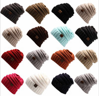 Womens Girls Thick Cap Hat Skully Unisex Slouch Knitted Bean...