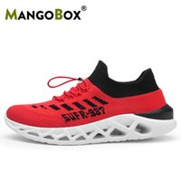 2019 New Walking Men Shoes Fly Wire Running Mens Sock Shoes ...