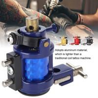 Máquina do tatuagem liga Rotary composição forte Motor Gun Liner Shader Coloração Permanente Ferramenta Tatoo Motor Gun Kits