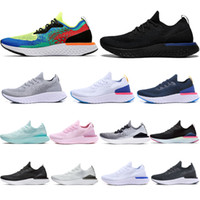 (With box)Epic React v2 Designer men women fly Shoes BEACH k...