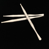 Aceite de cera dabTool Dabber de cerámica de alta calidad Para E clavo Dnail Glass Bong Frasco de vidrio Envase de silicona Miel seca Hierba vaporizador pluma