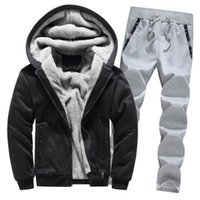 good quality Mens Sport Suits 2019 Mens Clothing Hoodie Wint...