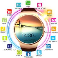 KW18 für Samsung Galaxy S10 Bluetooth Smart Watch Support Herzfrequenzmonitor Smartwatch für Apple Huawei Android IOS Watch mit Kleinkasten