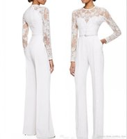 2020 Custom Made New White Mother Of The Bride Pant Suits Ju...