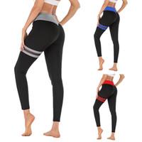 LAISIYI талии Push Up легинсы Упругие вскользь тренировки Фитнес сексуальные брюки Женщины Леггинсы полиэстер высокого качества высокого Бодибилдинг