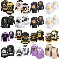 남자 아이스 하키 2020 모든 스타 유니폼 보스턴 Bruins 겨울 클래식 33 Zdeno Chara 37 Patrice Bergeron 63 Brad Marchand 88 데이비드 Pastrnak