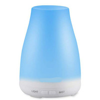 7 Color LED Night Light Essential oil diffuser humidifier Ar...