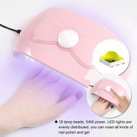 ND005 54W UV LED UVLED ногтей сушилка лампа для ногтей с 18 светодиодов Осушитель лампа для отверждения геля польского автоопределение ногтей Маникюров инструментов
