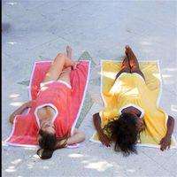 Sandy Beach Towelkini Serviette Couverture Anti Ébouillantantes Serviettes Tapis De Mode Réutilisables Vente Chaude Avec Haute Qualité 28jd J1